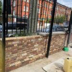 Brick works coping stone Victorian old reclaimed bricks